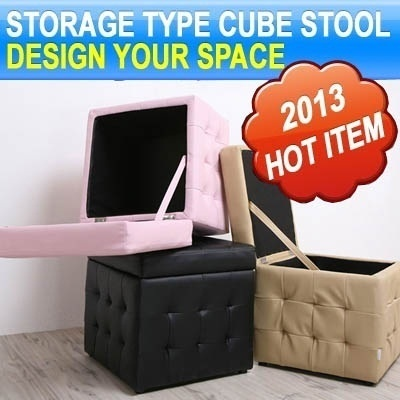 [Storage Type]Double Bubble Cube Stool★Storage box★Best Seller★Furniture★Singapore★Home★Sale★Cheap★Fa