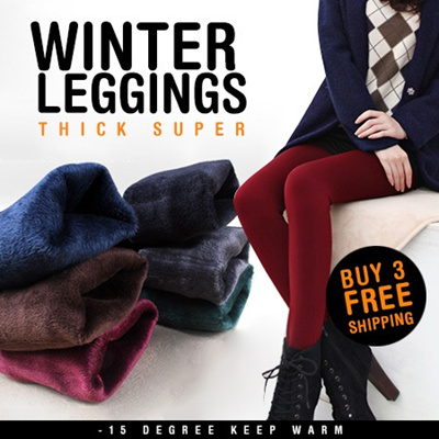 2014 Women/ Men Winter Leggings /-15 degree keep warm/ inner wear/ Women pants /plus size