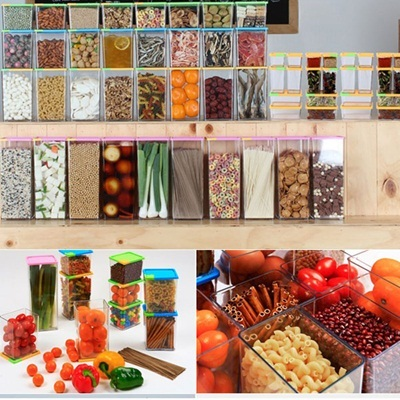 kitchen Storage Refrigerator Food Storage Container Set Food block
