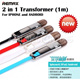 Golf 2M Speedy Cable / LED / Fast Charge 2 in 1 data charging cable/ Remax iPhone 5S/5C/5 iPhone 6 USB lightning cable Samsung Note 3 / S5 cable 3-in-1 cable (iphone5S/5C/5 Micro USB)