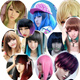 Halloween wigs sale online-Cosplay-wig--party wig -Bridesmaids wig online-more than 100 designs