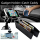 Free Delivery ▶Set of Two In-Car Gadget Holders+Catch Caddy◀GEC-Best solution for car interior/ 2 x In-car gadget holders (Black+White)2 x Suction stands2 x Catch caddy
