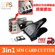 Cheapest SIM Card Cutter Micro to Nano Standard to Nano All in one Dual with free Sim card adapter adaptor Iphone 6 6+ 6plus 5S 5c plus Samsung note 5 4 3 2 1 S5