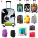 *Restock with NEW Designs*Unique and High Quality Elastic Luggage Cover Protector*Foldable Latch On Travel Bag*Travel Essentials*