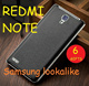 [HOT!!!] Xia0mi Redmi Note Samsung Faux skin lookalike back battery case cover (Stock Available now)