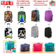 *Restock with NEW Designs*FREE luggage tag high quality elastic luggage cover protector foldable latch on travel bag