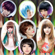 Change your color-style- Full wig-anysize wigs-Hair extensions-Cosplay wig-Which Haircut suite your face shape