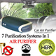 CRAZY SALE*NEVER AGAIN*SG BEST Car Air Purifier HEPA + UV + Photo catalytic + Ionizer + Fragrance oil filtration system. SG Stock 1 Year Warranty etc bag
