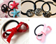Fancyful ponytail hair tying rubber band hair elastics hair ties