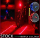 With tracking number 3 Style Bicycle Cycling Laser Tail Light (2 Laser + 5 LED)