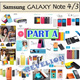 [NEW-PART A]★FREE Screen Protector★Samsung Galaxy Note 4 IV | Note 3 III LTE Case Cover Casing Nillkin Rock Baseus 8thdays Usams