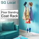 [Local Fast shipping]★Floor Standing Coat Rack★clothes hanger/ garment rack/ standing hanger/ Fast delivery in SG /Tree Hook Storage Stand Hat Hanger Holder Umbrella