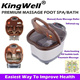 【Massage Foot Spa* Foot bath】Manual/Auto Massage Roller/Infrared ray/Auto-heating/O2 bubble bath/Fountain Massage