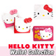 ★HELLO KITTY Wallet Collecticon★ coin paper money card Storage gift goo