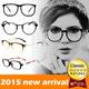 2015 new arrival  Vintage Stylish fashion glasses frame  spectacles frame Spectacles for Unisex  reading glasses