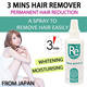 Popular In Japan - 3 Mins Fast Hair Removal ※Free shipping directly from japan within 3 working days!