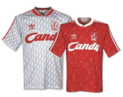 best service 023e4 b6015 ⚽️ 1989/91 Retro Liverpool Home and Away Football Jersey