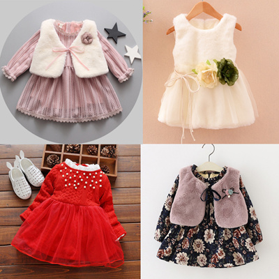 Qoo10 0 1 2 Year Old Baby Girls Summer Dresses Girls Princess