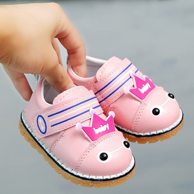 edeef067fe7 Qoo10 - 0-1-year-old boy shoes girl shoes baby shoes soft bottom baby  Walker s...   Kids Fashion