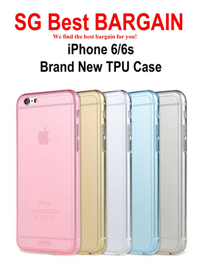 official photos 54719 1ca60 [$1.00 only! NO HIDDEN FEE!!] New 0.3mm TPU Case for iPhone 6 6S