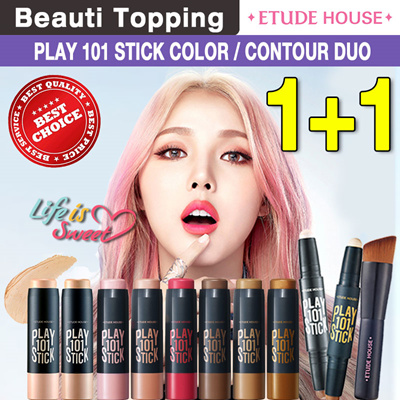 Qoo10 - ☆1+1☆ETUDE HOUSE☆[Beauti topping]Play 101 Stick Contour Duo/Multi Colo... : Cosmetics