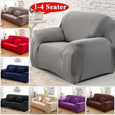 Qoo10 1 4 Seaters Fashion Recliner Sofa Covers Retro Recliner