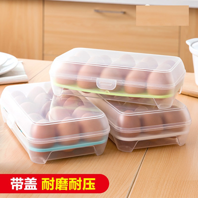 Qoo10 - 1 for 1 Egg Storage Container box refrigerator food containers holder ... : Kitchen & Dining