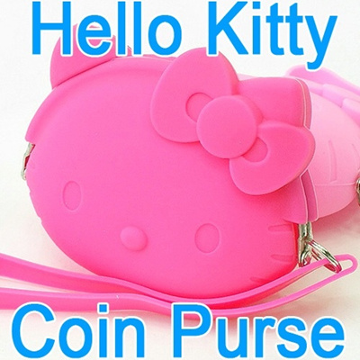 Qoo10 - 1☆Jelly Coin Purse☆ Hello Kitty Lady Girls Womens Kids Wallets  Pouch M...   Bag   Wallet cfd6858233