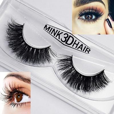 9fabc5c03fb Qoo10 - 1 Pair Eyelashes 3D Mink Eyelashes Crossing Mink Lashes Hand Made  Full... : Perfume & Luxury.