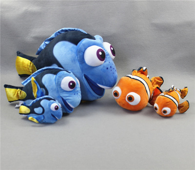 19c49f2177e 1 piece Finding Dory Plush Toys Nemo Doll For kids Gifts birthday
