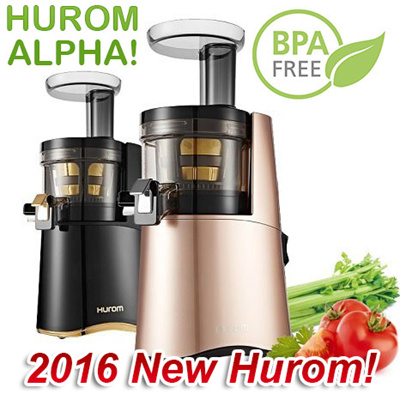 Qoo10 - [100% Authentic!] 2016 NEW Hurom ALPHA Premium Slow Juicer HAA H-AA-L... : Home Appliances