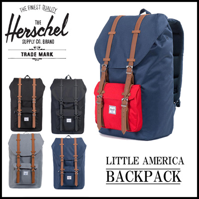 4162fcacf2d Qoo10 - 100% Authentic Herschel Supply Little America Retreat Heritage  Settlem...   Men s Bags   Sho.