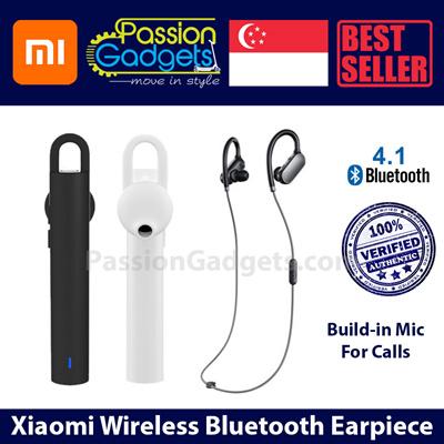 29fbf6b5ef3 Xiaomi Wireless Earpiece Bluetooth/Sports Headphones Headset LYEJ01L. prev  next