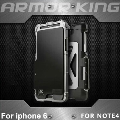 huge discount 71ee9 2e6a3 100% Genuine ARMOR KING Iron Man Super Protective Case Casing Cover For  iphone 6 Plus 5S/Samsung Galaxy Note 4 3 2/S4 5