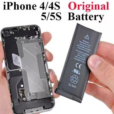 new battery for iphone 5 qoo10 100 new genuine apple iphone 4 4s 5 5s 5c 5573