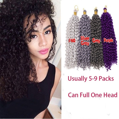 Qoo10 100g Crochet Curly Hair Bohemian Crochet Braids Hair Low