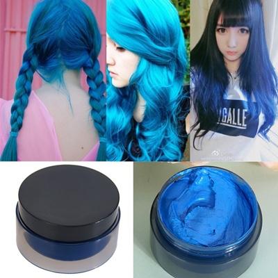 Qoo10 - 100ml Temporary Hair Dye Cream Hair Color Wax Mud Hair ...