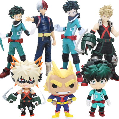 Qoo10 10cm Nendoroid My Hero Academia Figure Katsuki