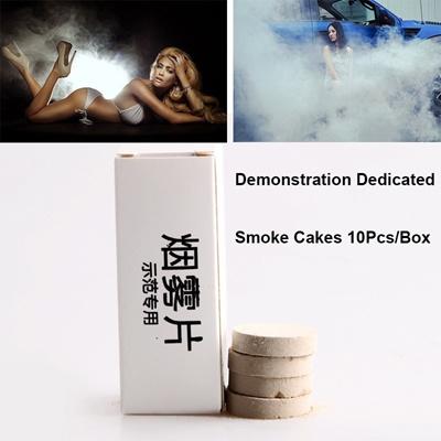 10PCS Smoke Cake White Smoke Effect Smoke Bomb Photography Aids