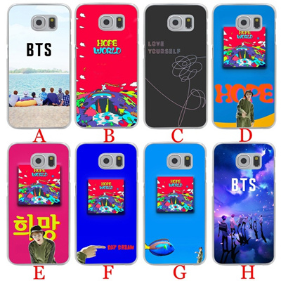 low priced 80894 13512 119A ARMY Bangtan Boys BTS SUGA Hard Phone Cover Case for Samsung Galaxy S7  S6 Edge S8 S9 Plus S3 S4