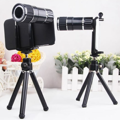 12 x External photographic camera / External telescope for iphone 6 plus  Samsung Galaxy note 4 3 2 S6 5 4 Xiao mi 234 LG G3 HTC One Oneplus