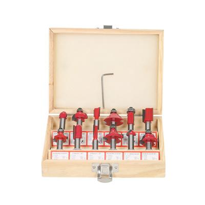 12PCS Milling Cutter Router Bit Set 8mm Shank Mill Woodworking Wood Cutters  Tool for Floor Handmade