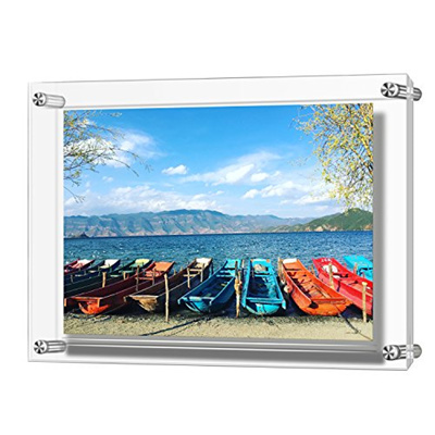 Qoo10 12x17 Acrylic Wall Mount Picture Frames A3 Size Clear Photo
