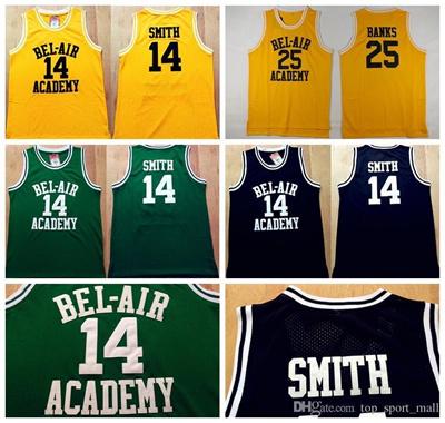 7c1967ed0c66 Qoo10 - 14 WILL SMITH Jerseys The Fresh Prince 25 Carlton Banks Jersey OF  BEL-...   Sports Equipment