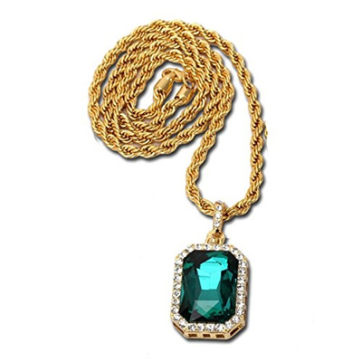 set shopzexy crystal p jewelry green austrian productgfx in gem chain vintage elegant jewellery