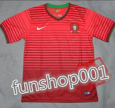 huge discount 1d951 3d5f9 15 Portuguese national team European Cup home jersey player red player  version