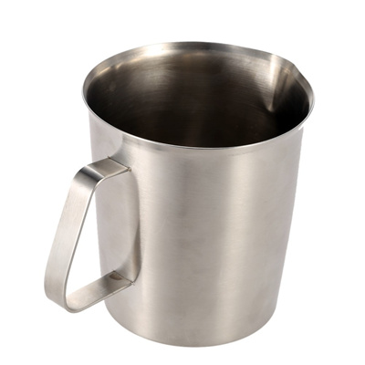 70aa020cfc2 1500ML Stainless Steel Milk Pitcher Jug Milk Foam Container Measuring Cup  Coffee Kitchen Tool