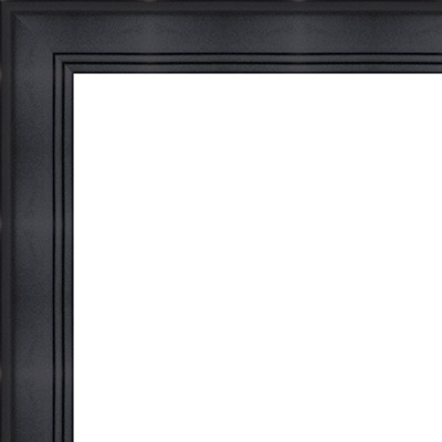 Qoo10 15x22 15 X 22 Contemporary Black Solid Wood Frame With Uv