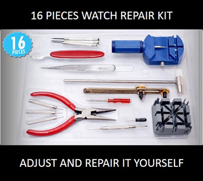 Qoo10 16 piece watch repair kit no more expensive watch repairs 16 piece watch repair kit no more expensive watch repairs from the local jewelers with solutioingenieria Images
