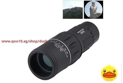 Qoo dual focus zoom optic lens armoring monocular